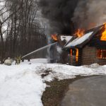 Pinch Rd. Dwelling fire