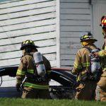 Sunnyburn Rd. Car fire